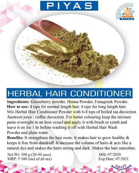 Products - Herbal Hair Conditioner